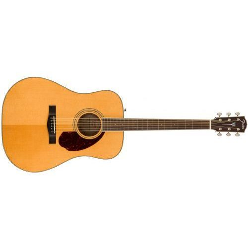 Fender pm-1e standard dreadnought, ovangkol fingerboard, natural w/case gitara akustyczna