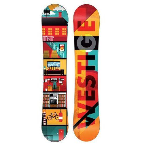 Westige deska snowboardowa Flat 158