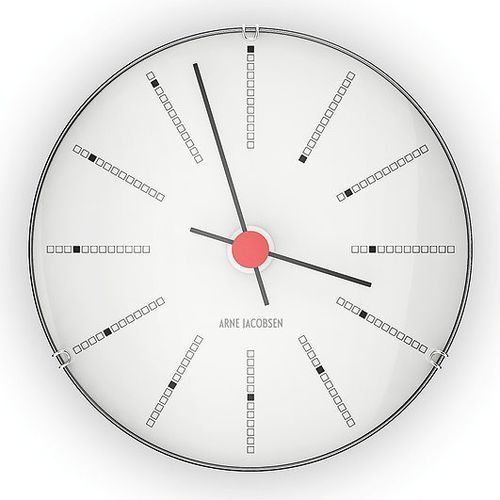 Zegar ścienny Bankers 12 cm (5709513436881)