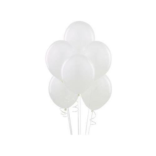Balony lateksowe pastelowe białe - duże - 100 szt. marki Party deco