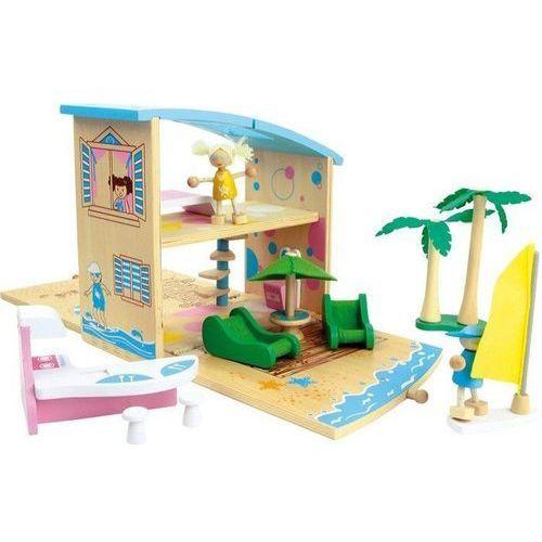 Domek letniskowy w walizce - zabawka dla dzieci marki Small foot design