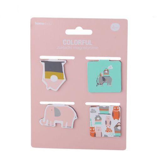 Komplet zakładek magnetycznych colorful marki Home&you