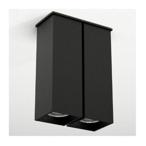 Shilo Spot lampa sufitowa toda 1105/gu10/cz natynkowa oprawa downlight czarny
