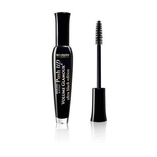volume glamour tusz do rzęs zwiększający objętość i podkręcający odcień 31 ultra black (push up) 6 ml marki Bourjois