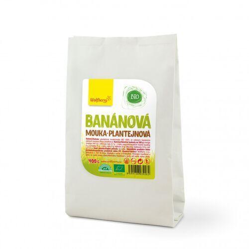 Wolfberry BIO Mąka z babki bananowej 400 g