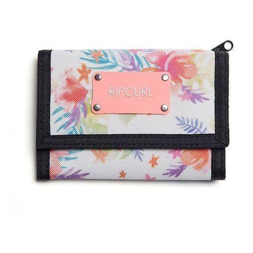 Rip curl Portfel - toucan flora surf wallet white (1000) rozmiar: os