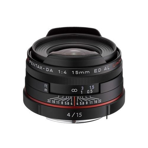 Pentax HD DA 15mm f/4 ED AL Limited (czarny) (0027075273764)