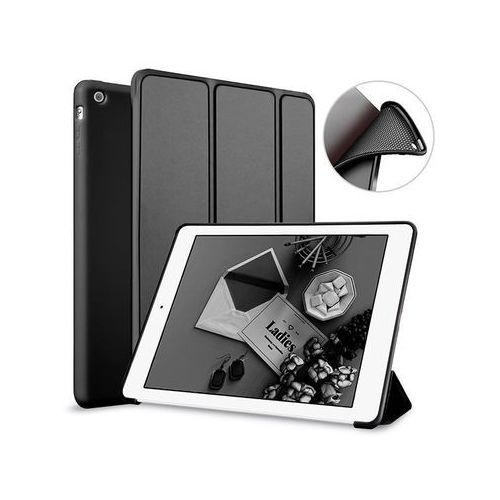 Etui Alogy Smart Case Apple iPad Air silikon Czarne - Czarny