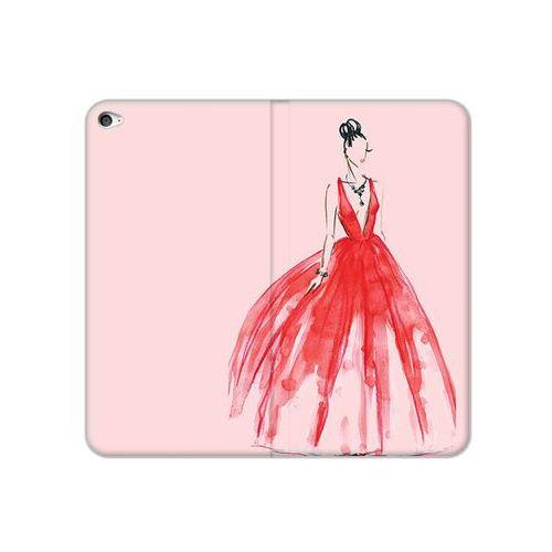 etuo Flex Book Fantastic - Apple iPad Air 2 - etui na tablet Flex Book Fantastic - czerwona suknia, kolor czerwony