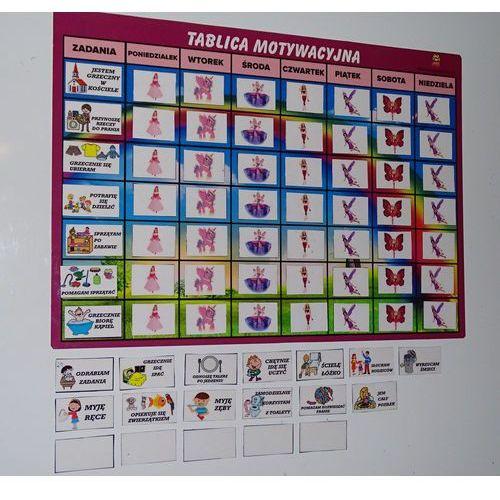 OKAZJA - Bystra sowa Magnetyczna tablica motywacyjna - księżniczki
