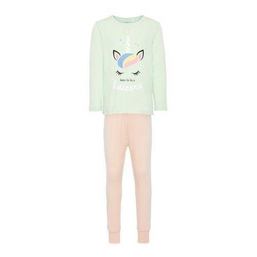 NAME IT Piżama 'NMFNIGHTSET' miętowy / mieszane kolory / różowy pudrowy