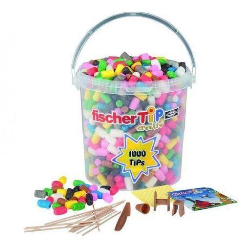 Kreatywny zestaw 1000 w wiaderku marki Fischertip