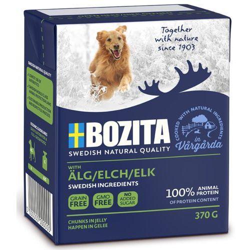 naturals z łosiem - karma dla psów, 370 g marki Bozita