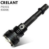 Crelant 7g5cs led flashlight wyprodukowany przez Gearbest