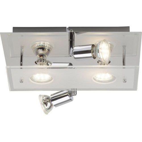 Brilliant Lampa punktowa g94405a15 gu10, (dxsxw) 30 x 30 x 9.5 cm, chrom (4004353218583)