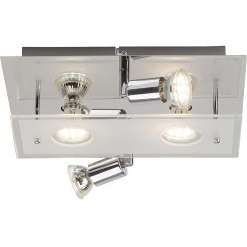 Brilliant Lampa punktowa g94405a15 gu10, (dxsxw) 30 x 30 x 9.5 cm, chrom
