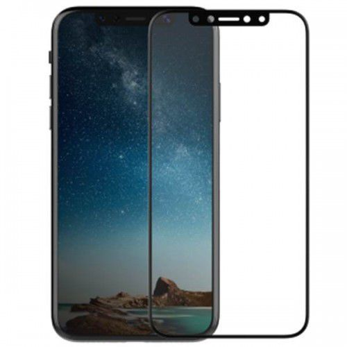 revel clear - hartowane szkło ochronne 9h na cały ekran iphone x (czarna ramka) marki X-doria
