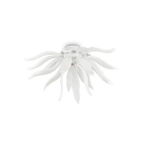 Ideal lux Plafon lampa sufitowa leaves pl6 6x40w g9 biała 112299 (8021696112299)
