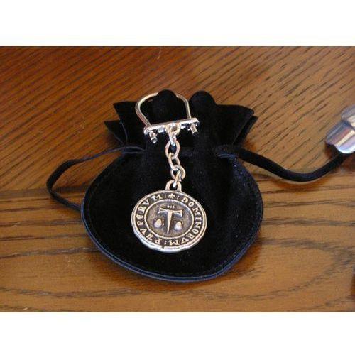 Płatnerze hiszpańscy Wyjątkowy brelok z symbolem zakonu św. jakuba z altopascio (agkr/17.01)
