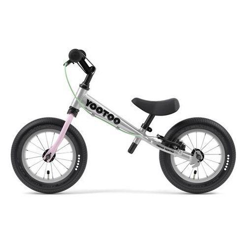 Rowerek biegowy Yedoo YooToo, Czarny (8595142609911)