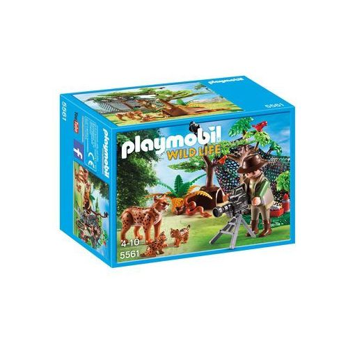 Playmobil WILD LIFE Rodzina rysiów z kamerzystą 5561 - BEZPŁATNY ODBIÓR: WROCŁAW!