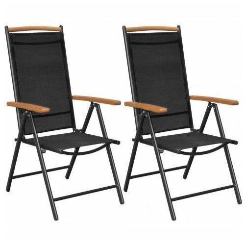 Składane krzesła ogrodowe Amareto 2 szt., vidaxl_41732