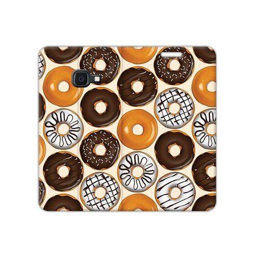 Etuo flex book fantastic Samsung galaxy xcover 4s - etui na telefon flex book fantastic - donuts