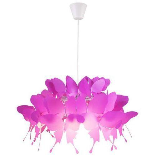 Light prestige Lampa wisząca farfalla lp-3439/1p dark dziecięca oprawa dekoracyjny zwis motyle różowe (1000000487886)