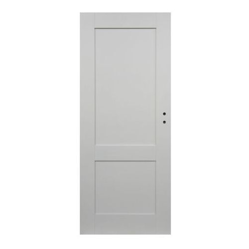 Drzwi pełne Camargue 60 lewe białe (5908443048762)