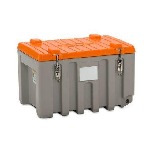 Pojemnik uniwersalny z polietylenu,poj. 150 l, nośność 100 kg