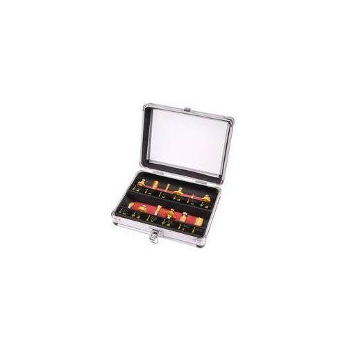 Zestaw frez craft 44037, do drewna, 12 szt.w stalowej walizce stal marki Extol