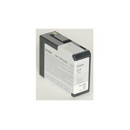 Epson oryginalny ink C13T580900, light light black, 80ml, Epson Stylus Pro 3800