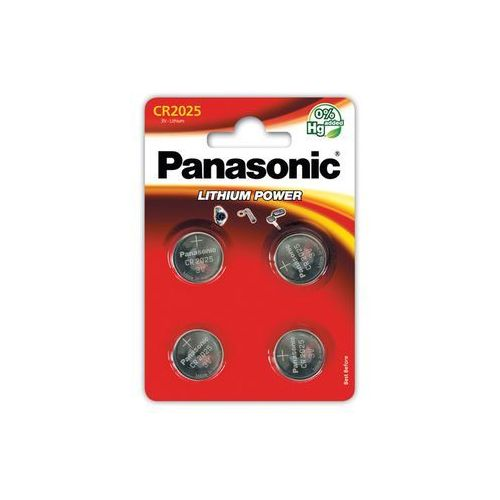 Panasonic cr2025el/4b (4 szt.) - produkt w magazynie - szybka wysyłka!
