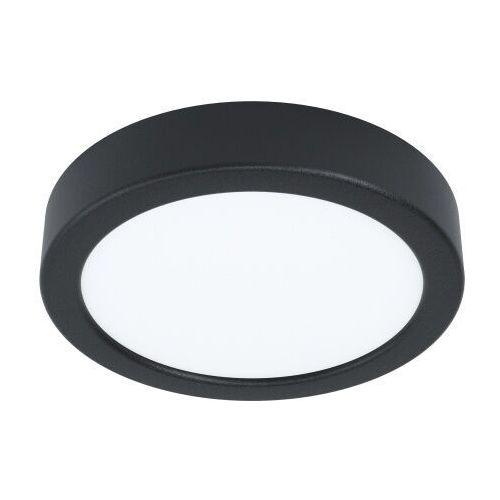 99222 FUEVA 5 oprawa natynkowa; stal, czarny / plastik, biały 3000K LED EGLO (9002759992224)