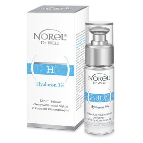 hyaluron 3% intensywnie nawilżające serum żelowe z kwasem hialuronowym (da349) marki Norel (dr wilsz)
