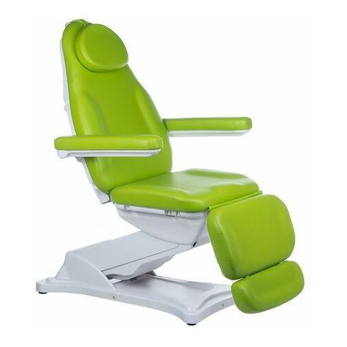 Elektryczny fotel kosmetyczny modena bd-8194 zielony marki Beauty system