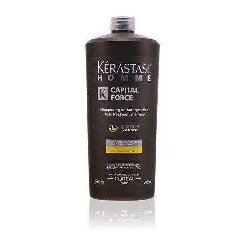Kerastase Homme Capital Force Daily Treatment Shampoo 1000ml M Szampon do włosów