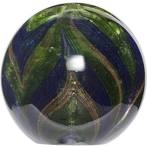 Przycisk do papieru hübsch kula 10 cm niebiesko-zielony (5712772065761)