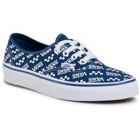Vans Tenisówki - authentic vn0a2z5iwh82 (logo repeat) tr bl/tr wht