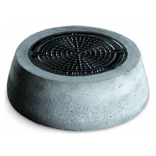Stożek betonowy Pipelife z pokrywą żeliwną fi 400 mm