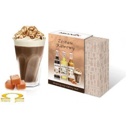 Monin Zestaw syropów kawowy 3x50ml