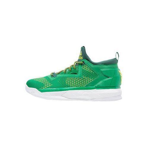 adidas Performance D LILLARD 2 PK Obuwie do koszykówki green/collegiate green/bright yello, GNF42