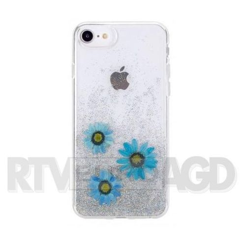 Flavr Etui iplate real flower julia do apple iphone 6/6s/7/8 niebieski (31458) (4029948070247)