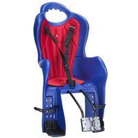 Elibas Fotelik t mocowanie na tył do ramy niebieski-czerwony