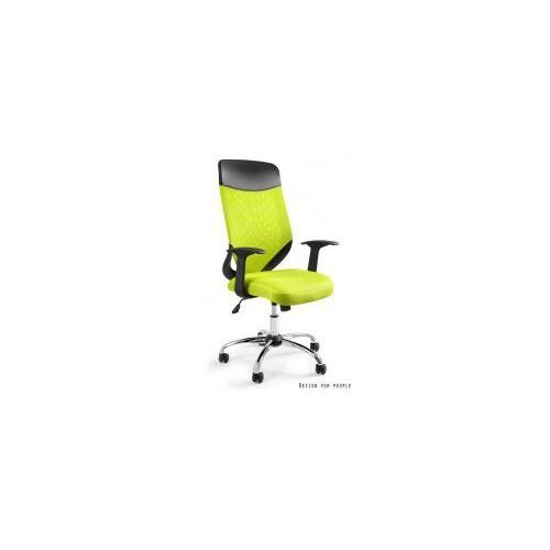 Krzesło biurowe Mobi Plus zielone, W-952-9