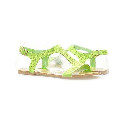 Sandały Vices Y437-29 Zielone, kolor zielony
