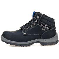 buty za kostkę męskie 43 czarny marki Tom tailor