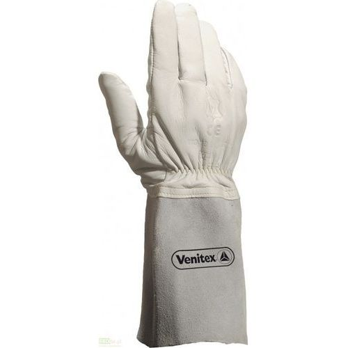 Rękawice spawalnicze ze skóry marki Delta plus
