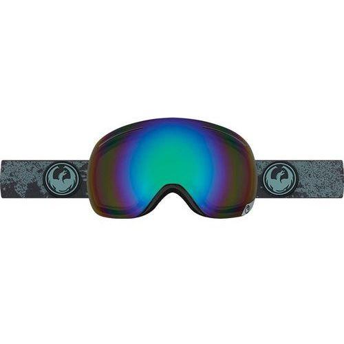 gogle snowboardowe DRAGON - X1 - Mason Grey/Flash Green Polarized (237) - produkt z kategorii- Kaski i gogle