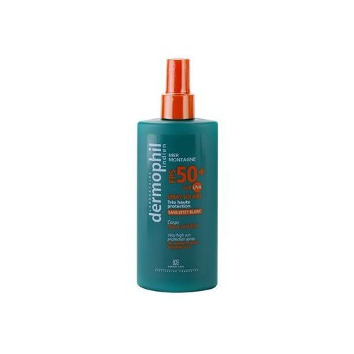 Dermophil Sun spray do opalania SPF 50+ (Not Suitable for Children under 3 Years) 200 ml z kategorii Kosmetyki do opalania
